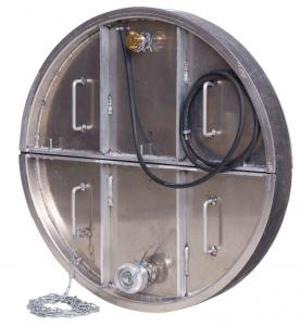 Obturateur mécanique rond gros diamètre